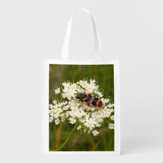 Soldier or Checkered Beetle Reusable Bag