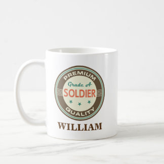 Soldier Personalized Office Mug Gift