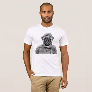 Soldier Pug T-Shirt