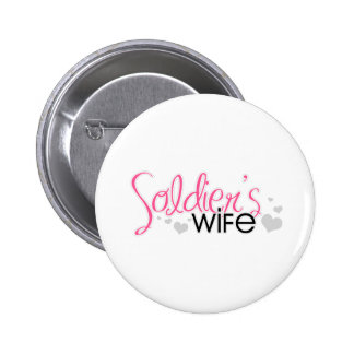 Soldier s Wife Pinback Buttons