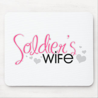 Soldier s Wife Mousepads