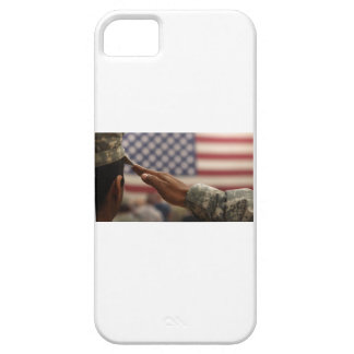 Soldier Salutes The United States Flag Case For The iPhone 5