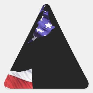 Soldier Triangle Sticker
