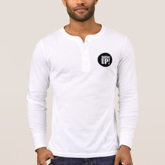 Soldier UP! Long Sleeve Henley Shirt