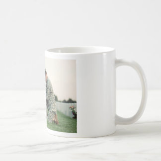 Soldier Visits Graves On Memorial Day Coffee Mug