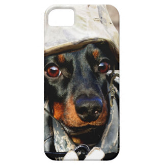Soldier Wiener dog iPhone 5 Covers