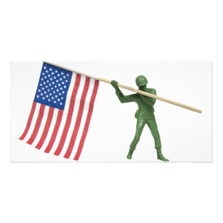 SoldierAmericanFlag1072509 Picture Card