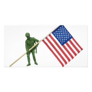 SoldierAmericanFlag2072509 Picture Card