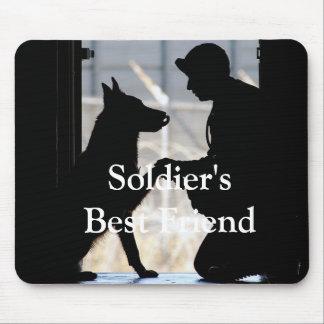 Soldier's Best Friend Mouse Pad