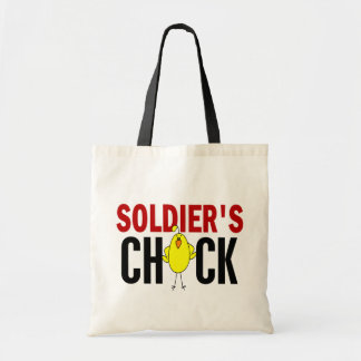 Soldier's Chick Tote Bag
