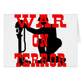 Soldiers Cross 9-11 War On Terror Greeting Cards
