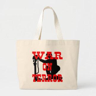 Soldiers Cross 9-11 War On Terror Jumbo Tote Bag