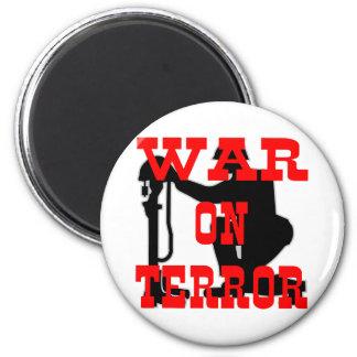 Soldiers Cross 9-11 War On Terror Magnet