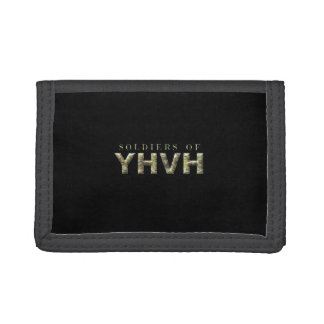 SOLDIERS FOR YHVH Christian Tri-fold Wallet