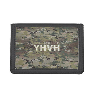SOLDIERS FOR YHVH Christian Tri-fold Wallets
