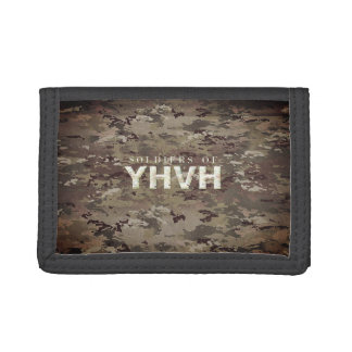 SOLDIERS FOR YHVH Christian Trifold Wallet