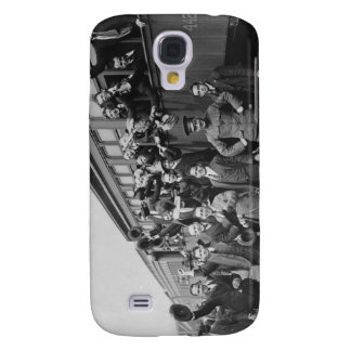 Soldiers Headed to Camp Upton During World War I Galaxy S4 Case