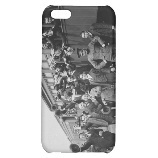 Soldiers Headed to Camp Upton During World War I iPhone 5C Cover