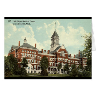 Soldiers Home Grand Rapids MI Repro Vintage 1912 Greeting Card