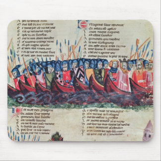 Soldiers in their Ships Mousepad