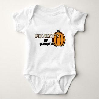 Soldier's lil' pumpkin baby bodysuit