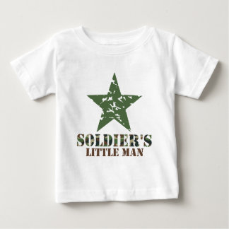 Soldier's Little Man Baby T-Shirt