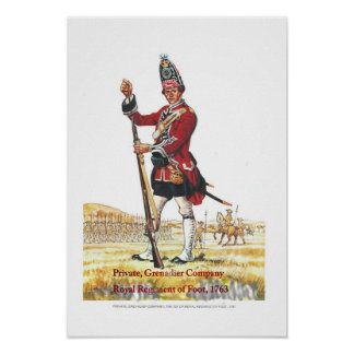 Soldiers of the Queen,Private, Grenadier Company Poster