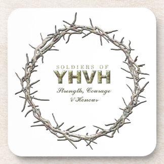 SOLDIERS OF YHVH Christian Coaster