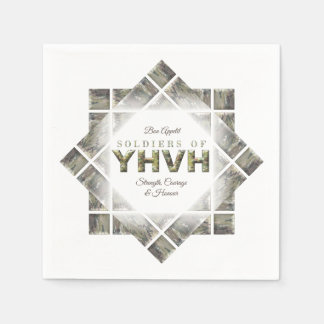 SOLDIERS OF YHVH Christian Disposable Napkins