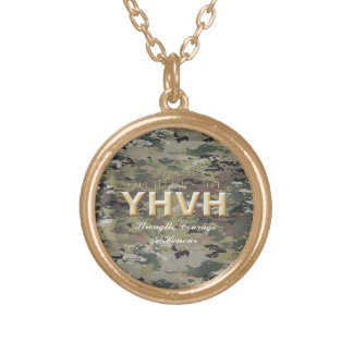 SOLDIERS OF YHVH Christian Gold Plated Necklace