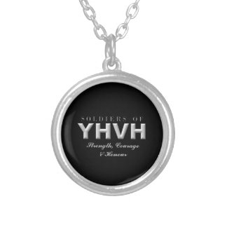 SOLDIERS OF YHVH Christian Silver Plated Necklace