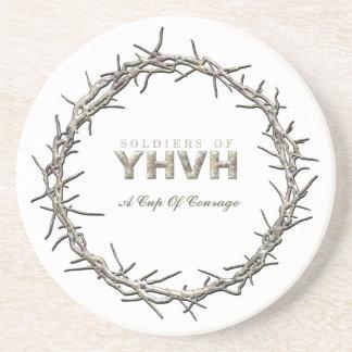 SOLDIERS OF YHVH Sandstone Coaster