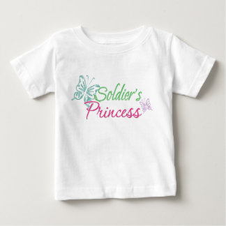 Soldier's Princess Baby T-Shirt