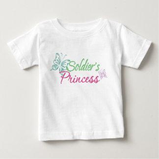 Soldier's Princess Baby T-Shirt