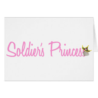 Soldier's Princess Card