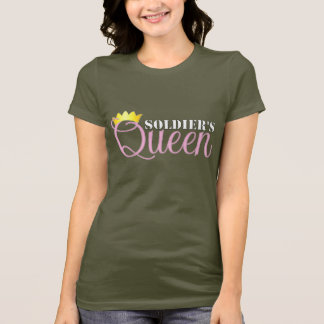 Soldier's Queen for dark apparel T-Shirt