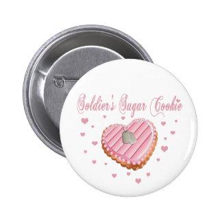 Soldier's Sugar Cookie Button