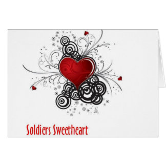 Soldiers Sweetheart Card