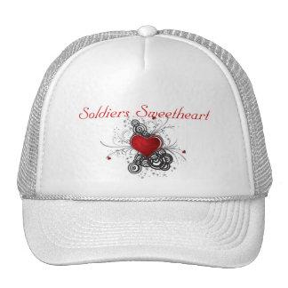 Soldiers Sweetheart Trucker Hats