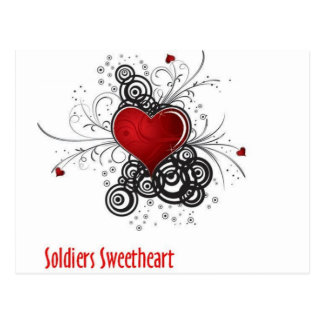 Soldiers Sweetheart Postcard