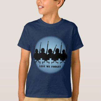 Soldiers Tribute Kids T-shirt War Peace Kids Shirt