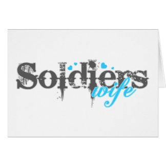 Soldier's Wife Greeting Card