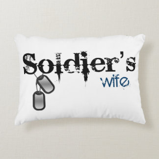 Soldier's Wife Decorative Cushion