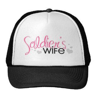 Soldier's Wife Trucker Hats