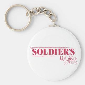 Soldier's Wife Keychain