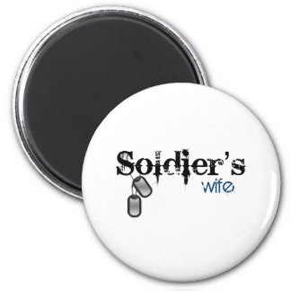 Soldier's Wife Fridge Magnets