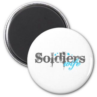 Soldier's Wife Refrigerator Magnets