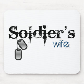 Soldier's Wife Mouse Pad