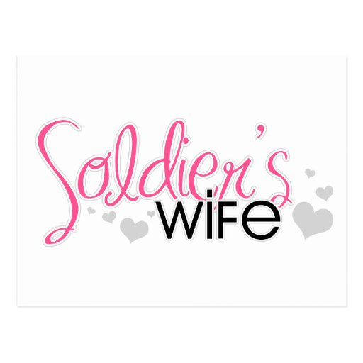 Soldier's Wife Postcards