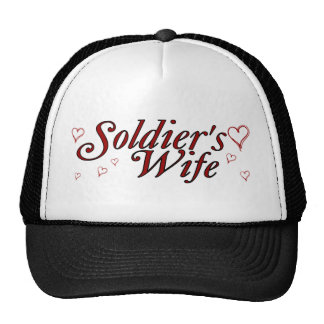 Soldier's Wife: Scribble Hearts Trucker Hat